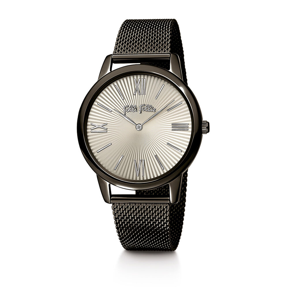 Match Point Watch, Bracelet Black, hires