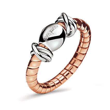 Aegean Breeze Rose Gold And Silver Plated Ring, , hires