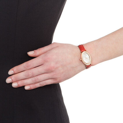 Mini Ivy Watch, Red, hires