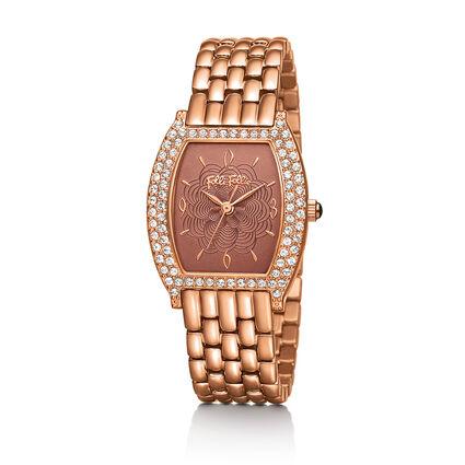 Debutant Watch, Bracelet Rose Gold, hires