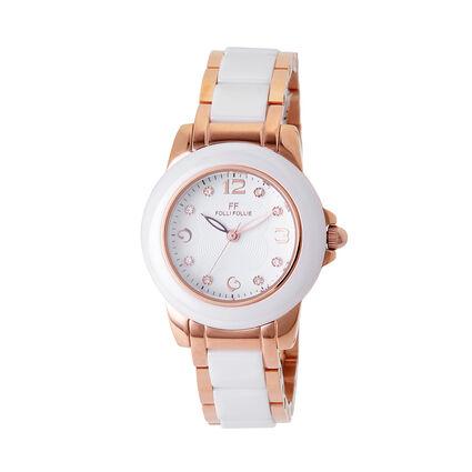 Gala Bracelet Watch, Bracelet White, hires