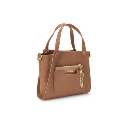 On The Go Mini Handbag, Brown, hires