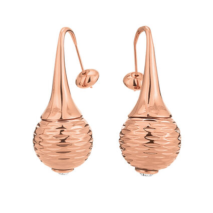Style Pops Rose Gold Plated Long Earrings, , hires