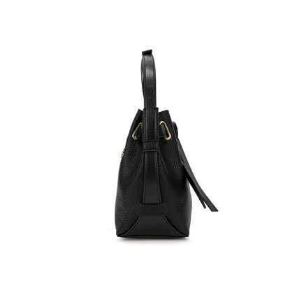 Mini Bolso de hombro Tie The Knot, Black, hires