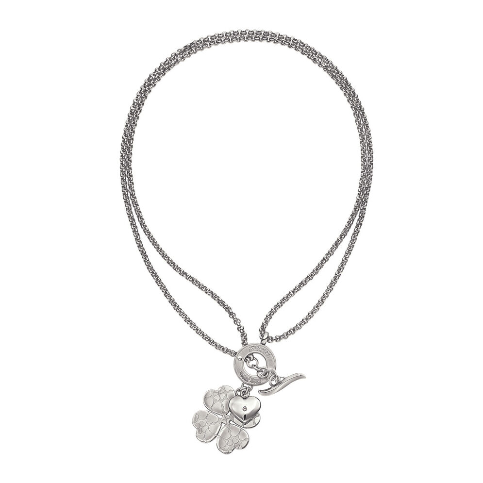 Heart4Heart Sweetheart Silver Plated Μακρύ Κολιέ , , hires