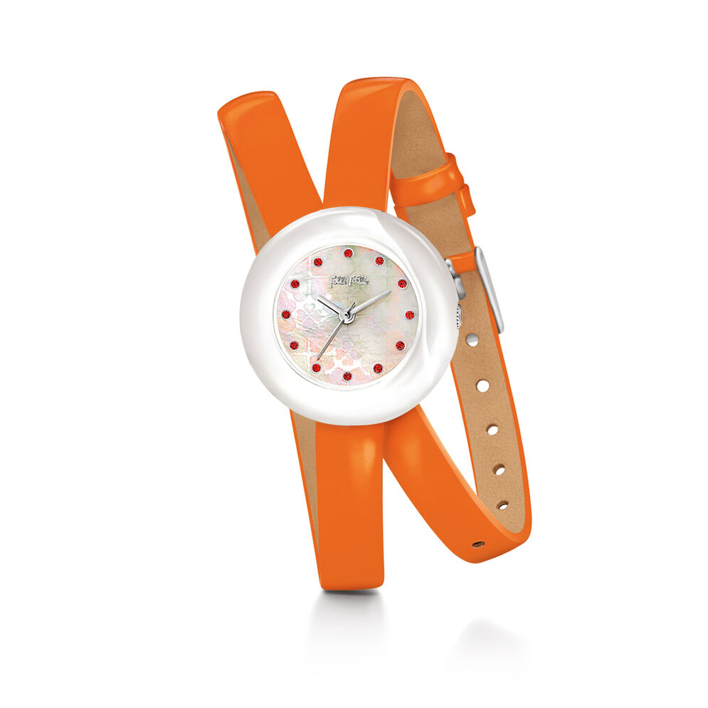 Heart4Heart Twin Watch, Orange, hires
