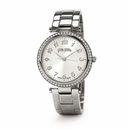 Classy Reflections Swiss Made Medium Watch, Bracelet Silver, hires