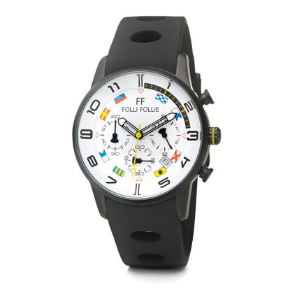 Mini Regatta Watch, Black, hires