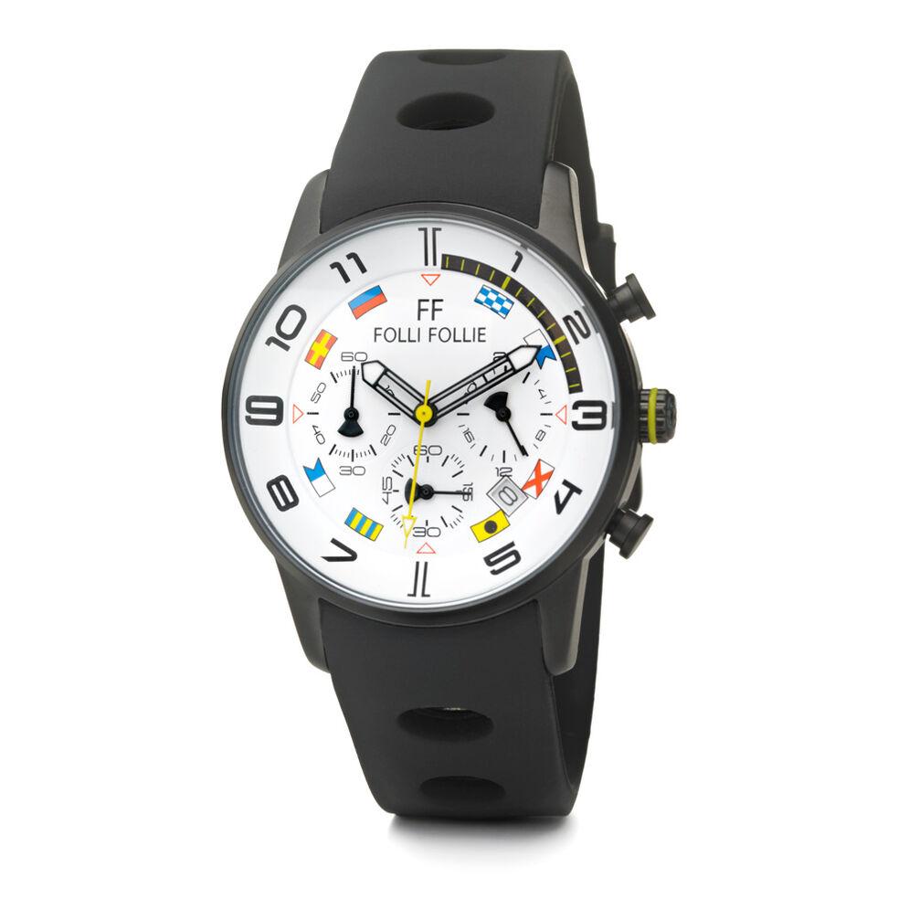 Mini Regatta Watch, Black, hires