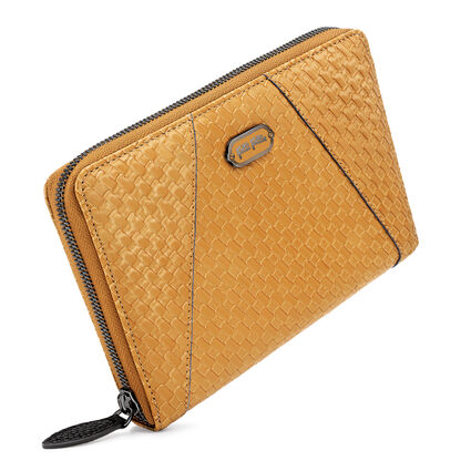 FLOWERBALL WALLET, Brown, hires