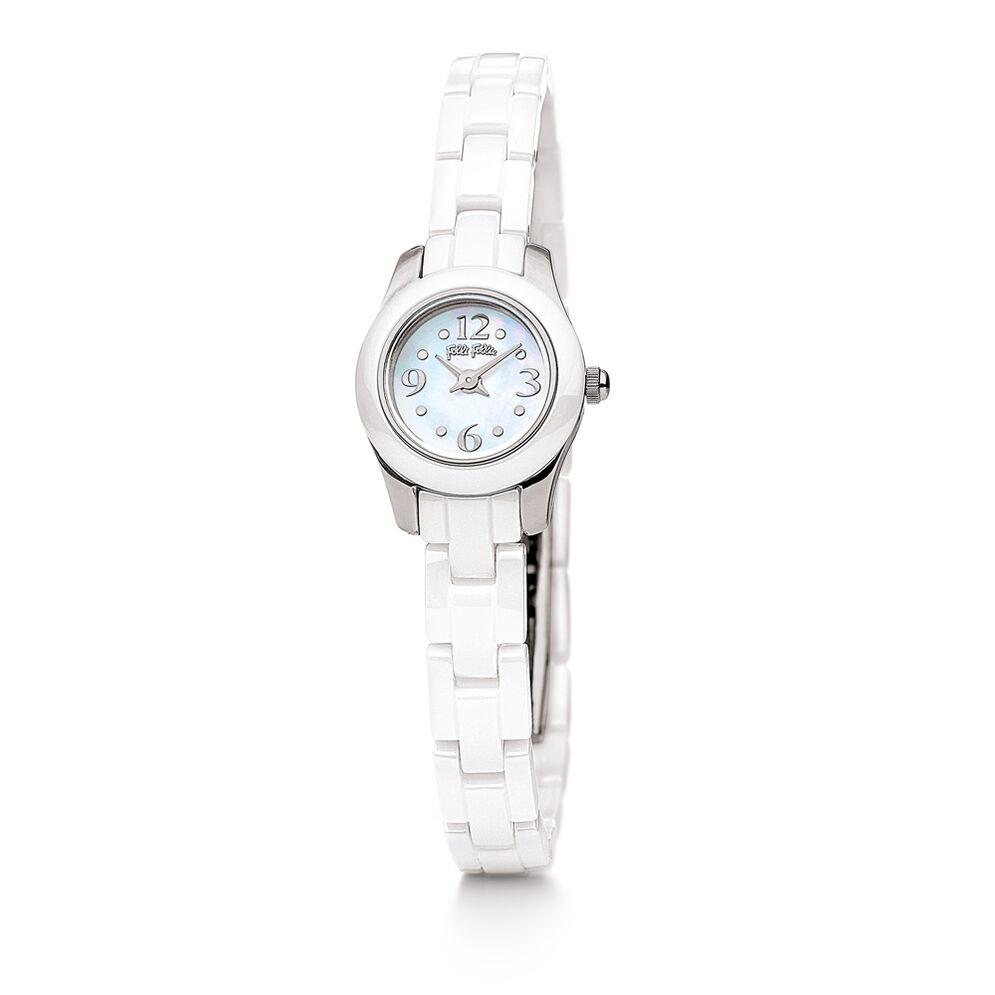 Mini Miss Watch, Bracelet White, hires