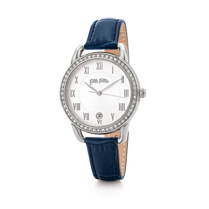 Vintage Candy Reloj, Blue, hires