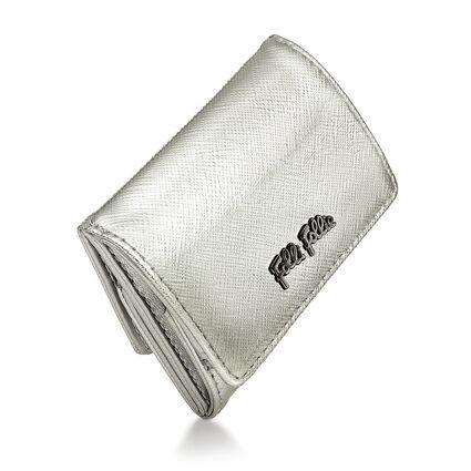 Folli Follie Foldable Πορτοφόλι, Silver, hires