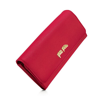 Folli Follie Foldable Wallet, Red, hires