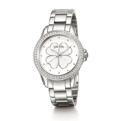 Heart4Heart Big Case Bracelet Watch, Bracelet Silver, hires