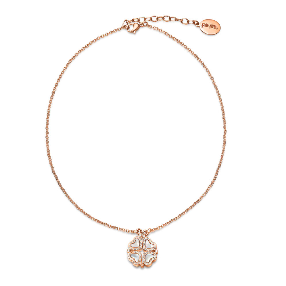 Heart4Heart Rose Gold Plated Short Necklace, , hires