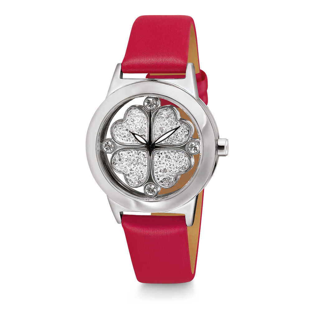 Heart4Heart Watch, Red, hires