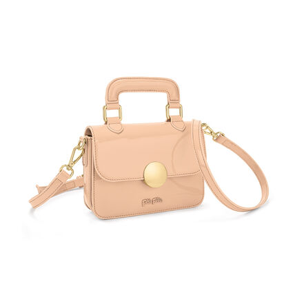 Sugar Sweet Shine Mini Shoulder Bag, Beige, hires