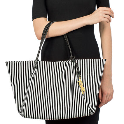 Island Riviera Large Tote Bag, Black, hires