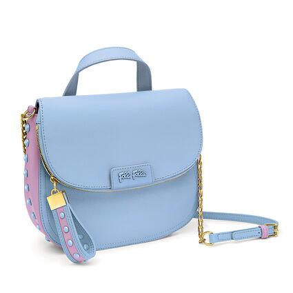 Studded Beauty Crossbody Strap Shoulder Bag, Blue, hires