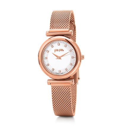 Sparkle Chic Swiss Made Reloj, Bracelet Rose Gold, hires