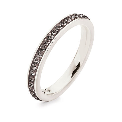 Match & Dazzle Silver Plated Band Ring , , hires
