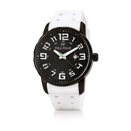 Sportime Watch, White, hires
