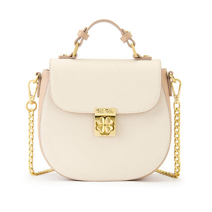 Heart4Heart Shoulder Bag, Beige, hires