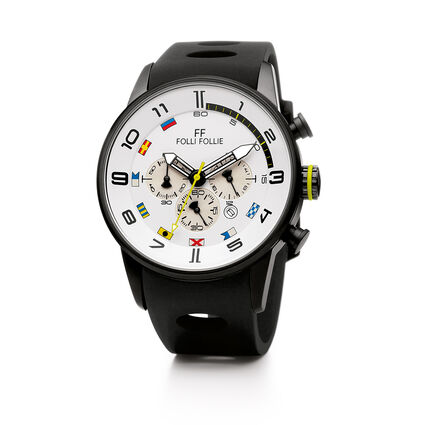 Regatta Big Case Rubber Watch, Black, hires