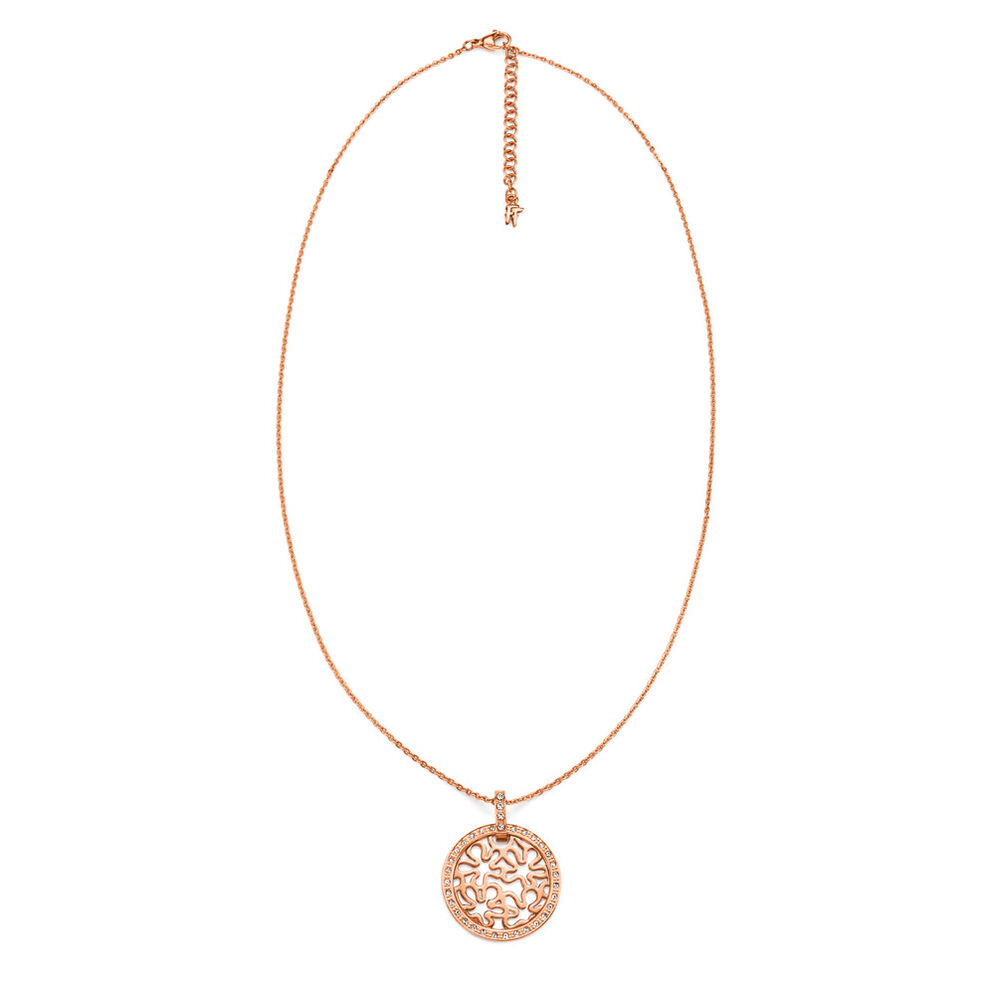 Fiorissimo Rose Gold Plated Κοντό Κολιέ, , hires