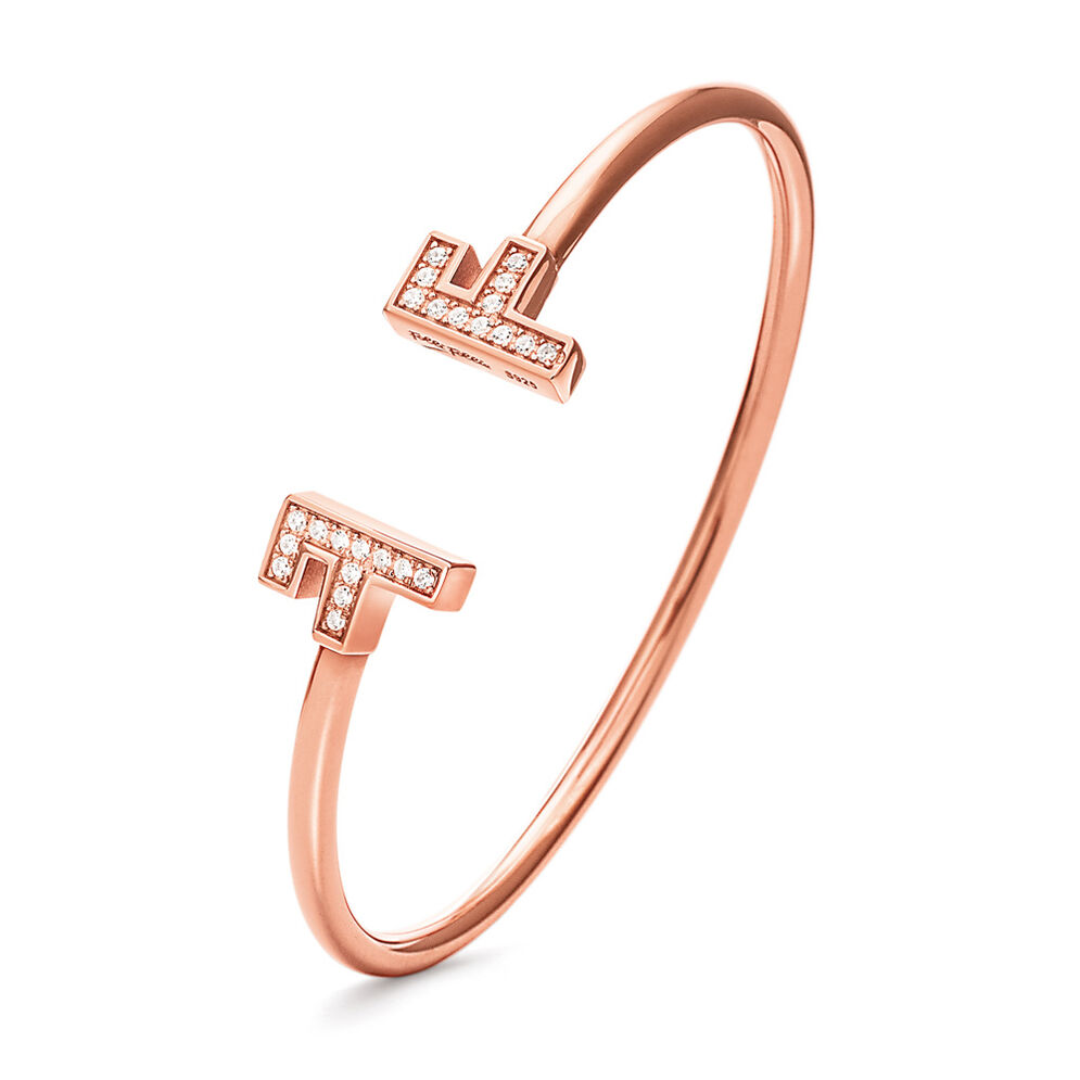 My FF Rose Gold Plated Σταθερό Βραχιόλι, , hires