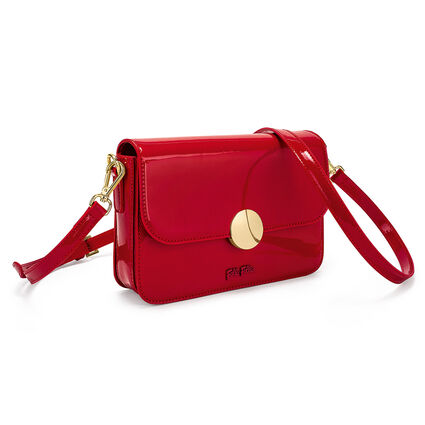 Sugar Sweet Shine Clutch Bag, Red, hires