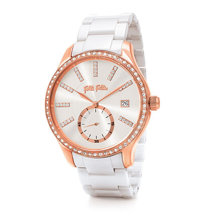 Style Bonding Reloj, Bracelet White, hires