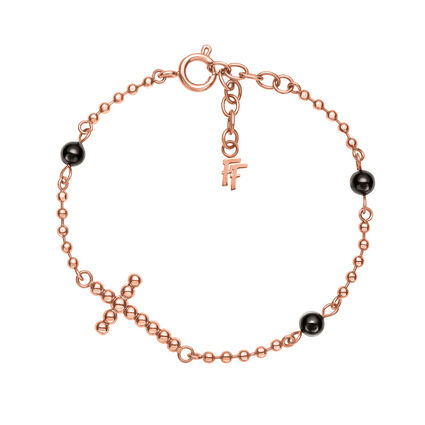 Carma Beads Rose Gold Plated Βραχιόλι, , hires