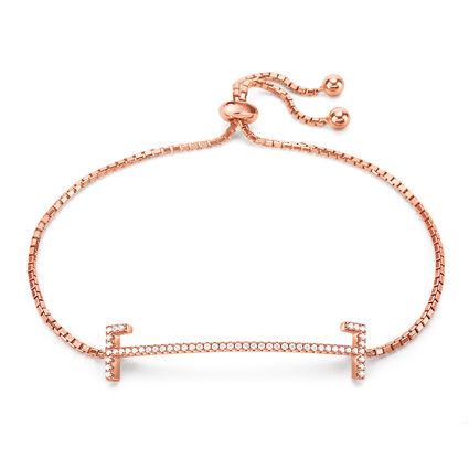 My FF 18kt Rose Gold Vermeil Adjustable Bracelet, , hires