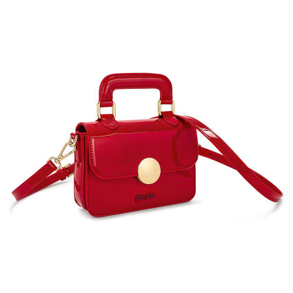 Sugar Sweet Shine Mini Shoulder Bag, Red, hires