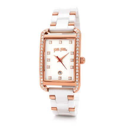 STYLE SWING 腕錶, Bracelet White, hires