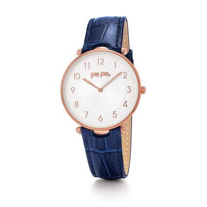 Lady Club Reloj, Dark Blue, hires
