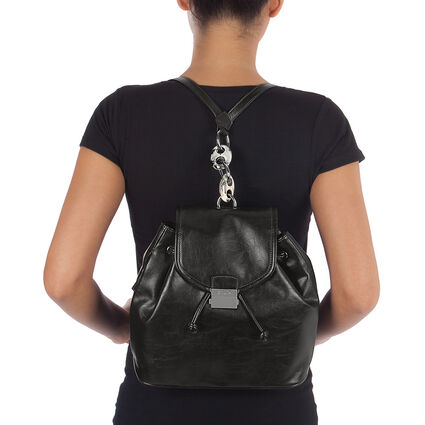 Vintage Chic Backpack, Black, hires