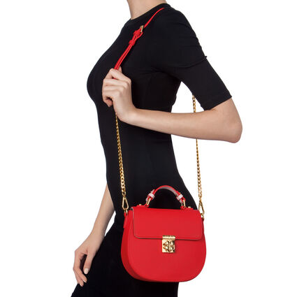 Heart4Heart Small Shoulder Bag , Red, hires