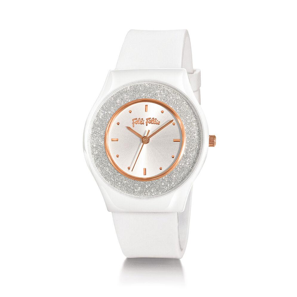 SPARKLING SAND 系列腕錶, White, hires
