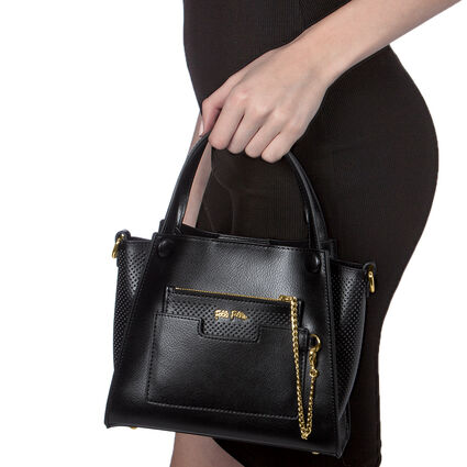 On The Go Mini Handback  , Black, hires