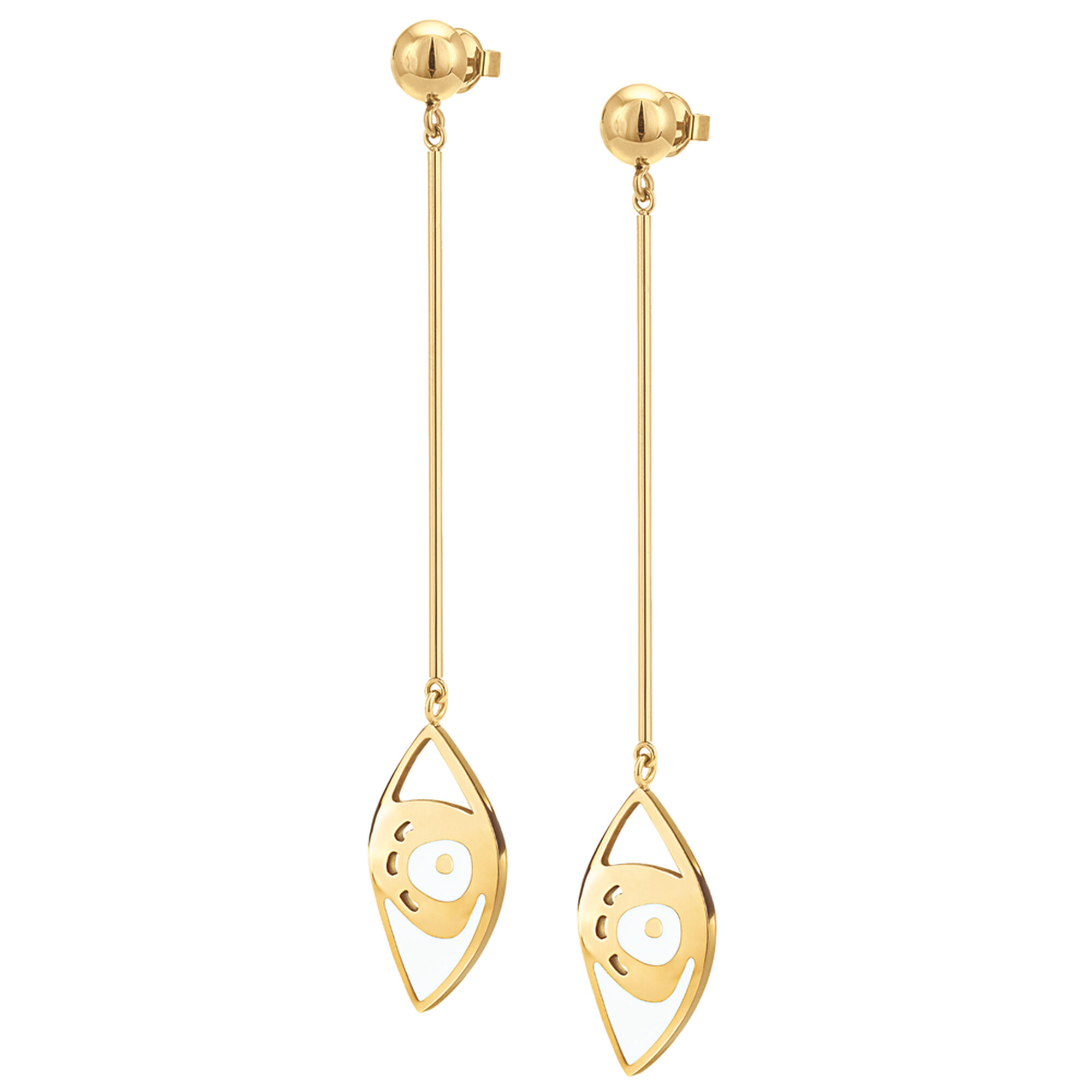 cm inspired gold plated ciclo butterfly earrings silver en nature in by