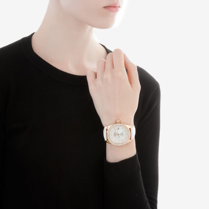 Day Dream Watch, White, hires