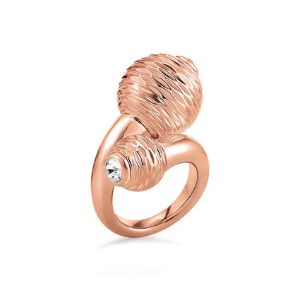 Style Pops Rose Gold Plated Ring, , hires