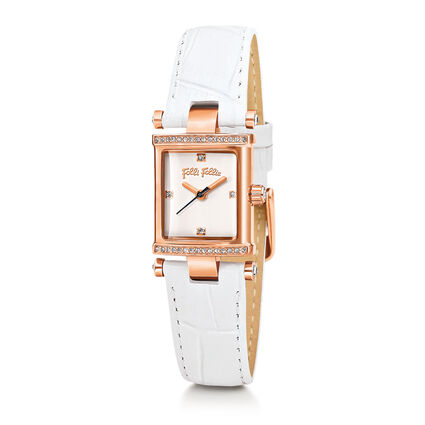 Square Logic Watch, White, hires