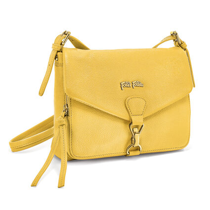 Inspire Leather Crossbody Bag, Yellow, hires