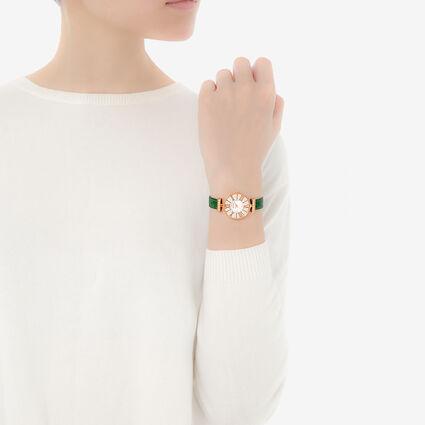 Dynasty Reloj, Green, hires
