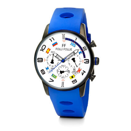 Mini Regatta Watch, Blue, hires