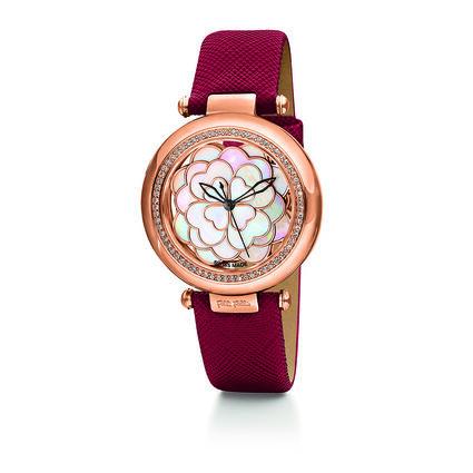 Santorini Flower Watch, Red, hires